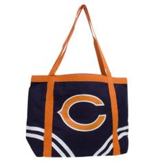 NFL Chicago Bears Canvas Tailgate Tote by Pro-FAN-ity by Littlearth. Save 56 Off!. $8.77. Officially Licensed. Features Over-Sized Team Logo. Large Interior Zipper Pocket. 14 oz Knit Cotton Canvas. Machine Washable. NFL Chicago Bears Canvas Tailgate Tote