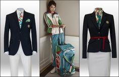 Azerbaijan Olympic Uniform 2012 - love that use of patterning