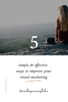 If you want to know how to make your readers go on specific pages or recognize your branding, we share 5 ways to improve your visual marketing. Blog Layout, Social Media Branding, Brand Story, Minimal Design, Logo Inspiration, Creative Business, Online Marketing, Storytelling, Improve Yourself