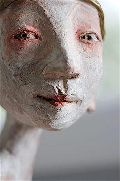 Scissors Girl, Marsha Schindler #sculpture