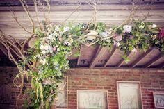 Creative English Garden Wedding Filled With Pretty Pastel Florals
