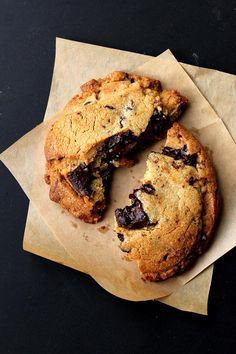 Dark Chocolate Peanut Butter Cookies