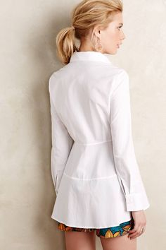 Cute way to upcycle Men's XL Shirt, back view