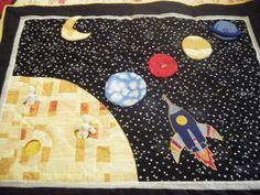 where can i find a space ship quilt pattern | Space Quilt