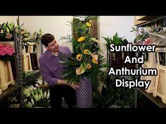 How To Make An Asymmetrical Flower Arrangement - YouTube