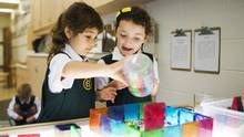 More private schools introducing full-day junior kindergarten to children as young as 3 - Montessori paragraph noted at end- we are the trail blazers!