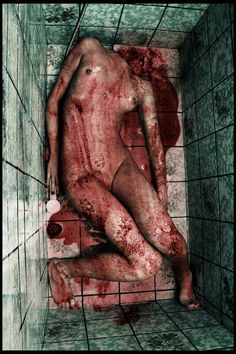 )) Again - sun of blood, gore, tits and naked body )) Just this time there's no head ! Creepy Horror, Creepy Art, Horror Art, Horror Movies, Scary, Cthulhu, Espanto, Horror Photography, Arte Obscura