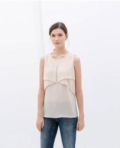 Zara LAYERED TOP Ref. 7972/052 49.90 USD