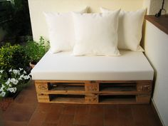 Chill- outs y muebles con palets