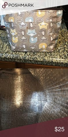 Thirty One lunch tote Used once The tags are missing the bag is in new condition Thirty One Bags Totes