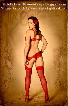 Vintage Pinup and Boudoir Retouching tutorial  Flickr - Photo Sharing