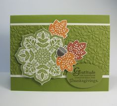 Fall - Day of Gratitude Card