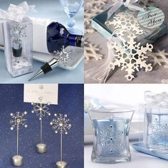 snow flurry glass ornament place card holders set of 6 place card winter weddings and ornament