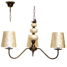 #Lámpara de techo #Vintage #Nácar