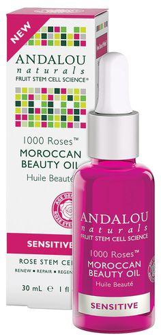 Andalou Naturals 1000 Roses™ Moroccan Beauty Oil Sensitive