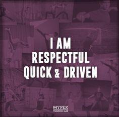 Respectful & Driven