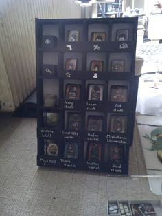 Arkham Horror - Card Storage Board Game Organization, Card Storage, Game Design, Card Games, Horror, Deck, Gaming, Cards, Rpg
