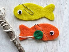felt and magnet fishing game: realpurdy Diy For Kids, Crafts For Kids, Arts And Crafts, Craft Kids, Craft Activities For Kids, Toddler Activities, Fishing Games For Kids, Magnet Fishing, Fishing Rod