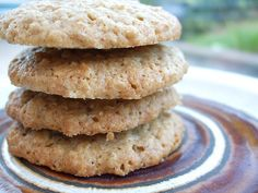 Recipe: Oat biscuits - just like you can buy in the shops...