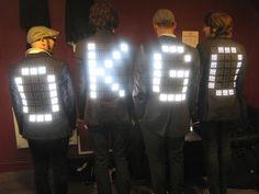 oldschool:  ;-) GO LED jackets by Moritz Waldemeyer
