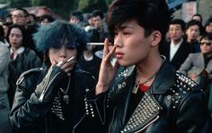 "vaticanrust:  ""Punks in Japan, 1980s  """