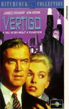 """Vertigo"" (1958) A great Hitchcock movie with a startling ending and one of my favorite actors--James Stewart. It's so neat seeing all the San Francisco places and the mission at San Juan Bautista. Been there!"