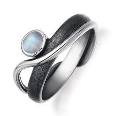 Rabinovich 40803000 zilveren ring met maansteen
