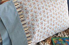 Sew a Patterned Pillowcase | Try It - Like It :: craft, eat, read, buy, win, link