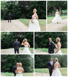 Kirstin & Pat's wedding at Eagle Mountain House! first look
