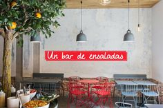Bar de ensaladas Gust | Madrid Confidential