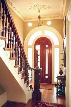 Entry Hall Harlem Brownstone Pinterest Entry Hall And - Ardmore hall luxury residence built by michael knight