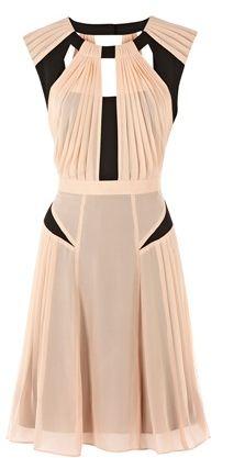 Warehouse cut-out dress