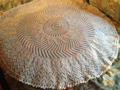 I think this will be my entry in the baby blanket category at the State Fair this year.  Heirloom baby blanket #2.  Girasole by Jared Flood in Nature Spun sport weight.