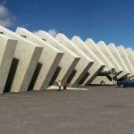 Construído em uma área total de 1,78 hectares e localizada entre o edifício antigo costume e fronteira, o Checkpoint Terminal Border em Ninotsminda, Georgia , é um dos últimos de uma série de projetos de infra-estrutura na Geórgia que é projetado por Luka Machablishvili.