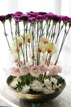 ☆.。.:*・花を創造する美しい日々 in 二子玉川☆.。.:*・-ムーンダストアレンジ