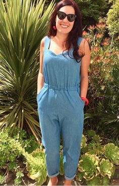 Sandra's Marigold Jumpsuit sewing pattern by Tilly and the Buttons
