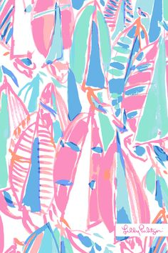Lilly Pulitzer Mobile Wallpaper: Out to Sea