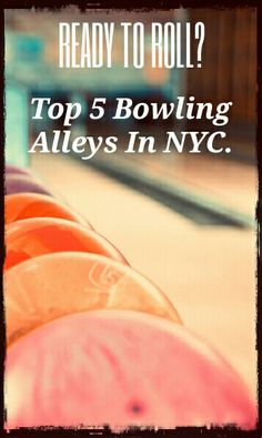 Top 5 Bowling Alleys in   New York City. What's your favourite?  https://www.hellobigapple.net/top-5-bowling-nyc/