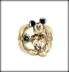 Mickey Brooch