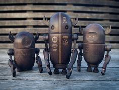 Woodbots from North Kingdom.
