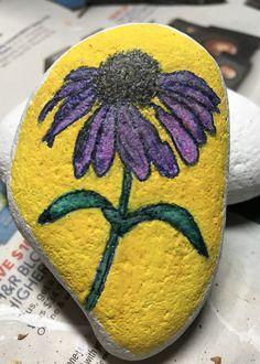 Lady Bug Painted Rocks, Painted Rocks Craft, Painted Pebbles, Pebble Painting, Pebble Art, Stone Painting, Rock Painting, Stone Crafts, Rock Crafts
