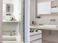 Dans les salles de bains, toutes les fantaisies sont désormais permises ! Les espaces s'agencent de façon originale et s'autorisent tous les styles.