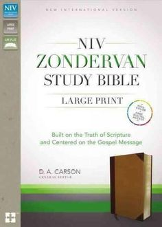 Zondervan Study Bible: Built on the Truth of Scripture and Centered on the Gospel Message: New International Vers...