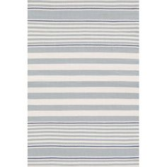 Indoor/Outdoor Blue/White Outdoor Area Rug | Wayfair