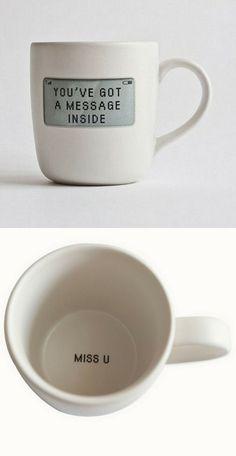 Miss U // Message Mug