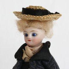 Antique Miniature Dolls - 1