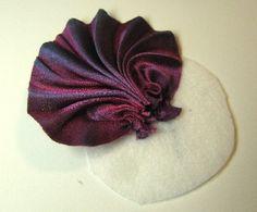 Бисероплетение Искусство: Создание плиссированные шелковые Shibori ленты цветы - часть вторая