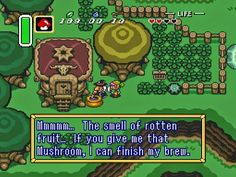 The Legend of Zelda: A Link to the Past (Nintendo, 1992, SNES). One of my favorite games ever, although I never managed to finish it. With its humorous story, Japanese style, epic music, and puzzle-action it feels like it was made for me.