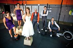 #CrossFit wedding. @GlenLori Harding  this is going to be my wedding