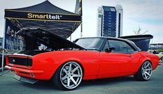 From: arntzen23 - #chevrolet #camaro #rs #ss #1967  #proturing #ferradawheels #ferrada #fr1 #stanced #detroitspeed #mastmotorsports #americanmuscle #americancars #amcar #tremec5speed #tremectransmission #dakotadigital #fastcar #lowlife #groundzero #bildnotbought #bilsportmagazine #billetspecialties #carmeet #norway -  More Info:https://www.instagram.com/p/BUUxC8FB5Eh/